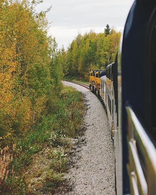 Kirsten Alana Alaska Railroad